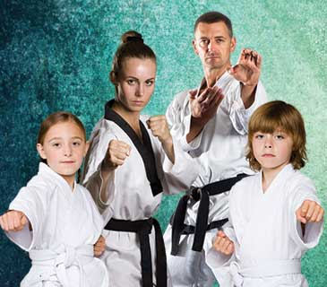 martial arts familly