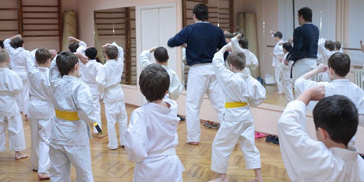 martial arts kids class