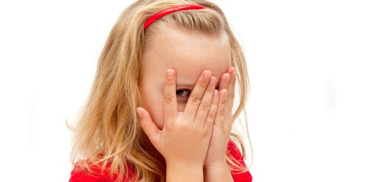 shy kid